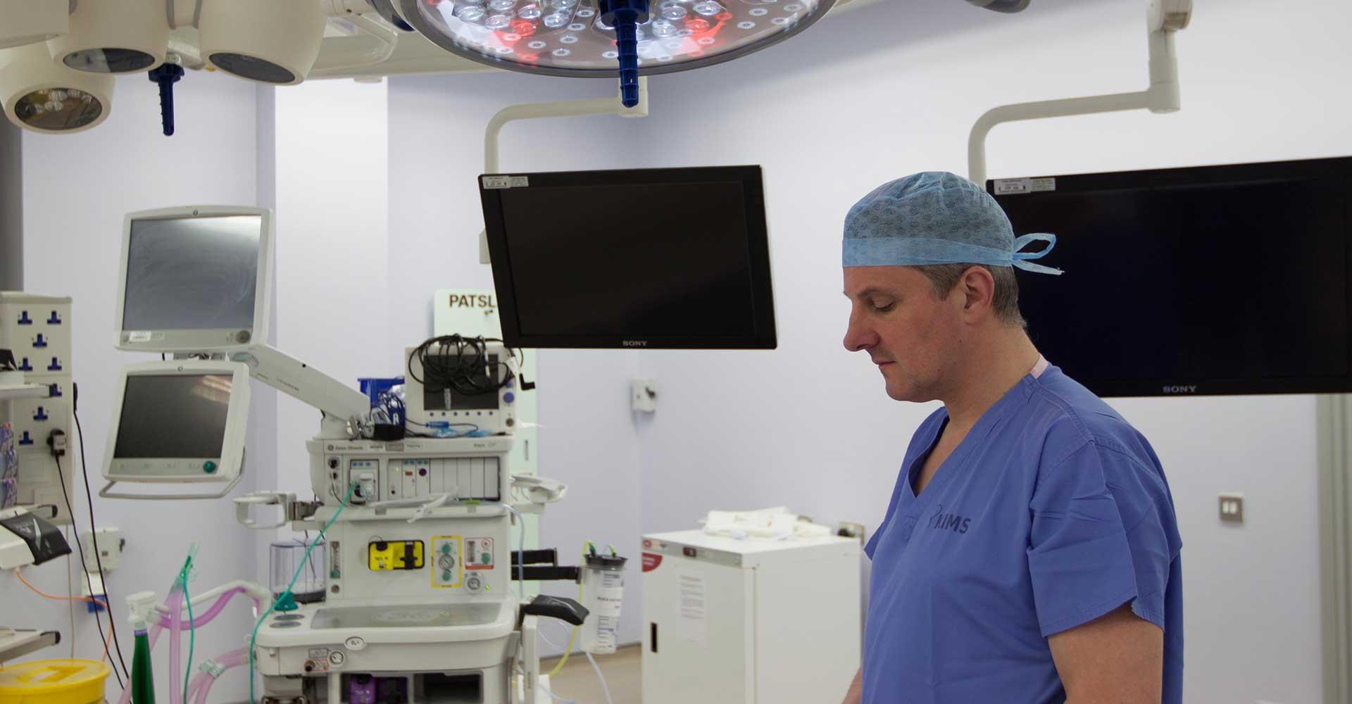 Simon Bailey Surgeon